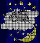Kitty On The Cloud Crochet Pattern